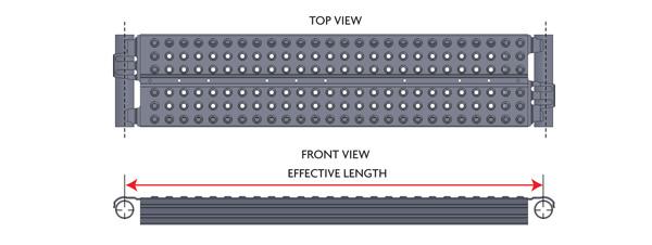 """9-1/2"""" Low Profile Steel Plank"""