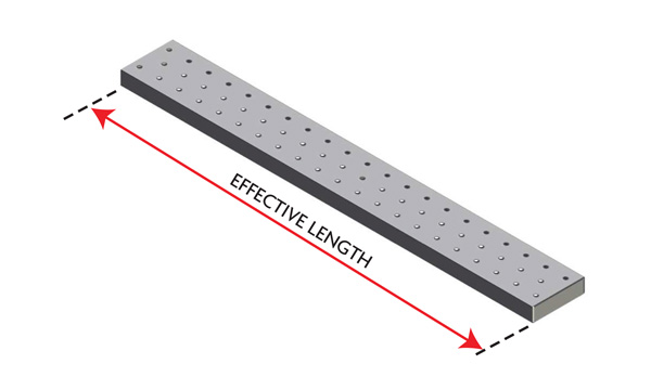 """9"""" Steel Baton Board"""