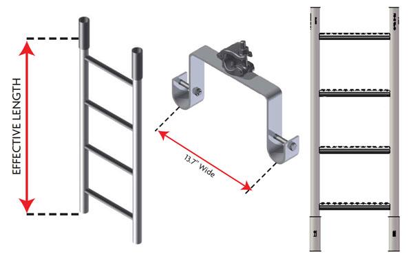 Heavy Duty Scaffolding : Heavy duty steel ladder bracket dss cup lock