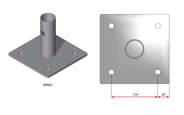 rigid-base-plate