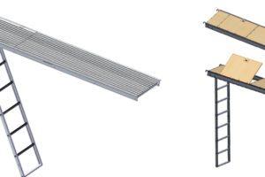 28″ Hatch Plank w/ Aluminum Ladder